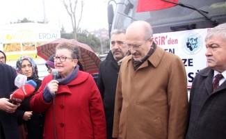 Büyükşehirden Türkmenlere yardım eli