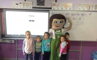 'Çevre Dostu Çocuk Tomurcuk' 52 okulda 4 bin 800 öğrenciyle buluştu