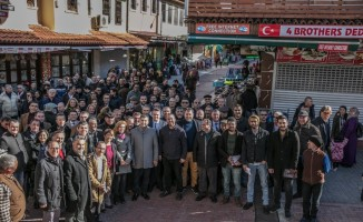 CHP Kuşadası Belediye Başkan Adayı Ömer Günel esnafla buluştu