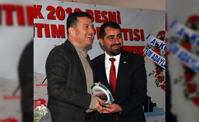 CHP'li Ağbaba Adıyaman'da aday tanıtım toplantısına katıldı