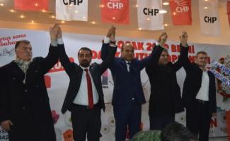 CHP'nin Besni ve belde belediye başkan adayları tanıtıldı