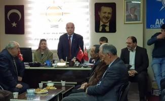 Çıldır AK Parti yeni yönetimi ilk toplantısını yaptı