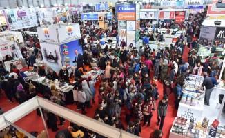 Çukurova Kitap Fuarı'nı 363 bin 575 kişi ziyaret etti
