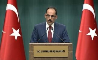Cumhurbaşkanlığı'ndan flaş Suriye açıklaması