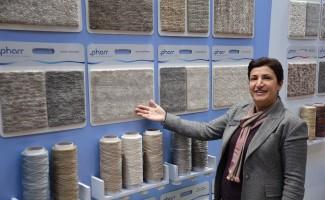 Domotex'te tek Türk kadın girişimci