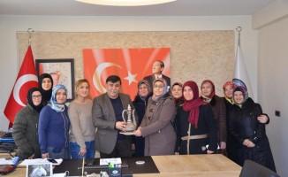 EMKO üyelerinden Başkan Koca'ya teşekkür ziyareti