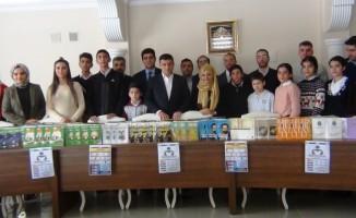 """Erciş'te """"Kitap Okuma"""" yarışması"""