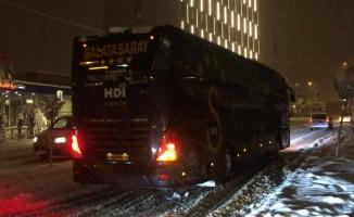 Galatasaray kafilesi Bolu'dan ayrıldı