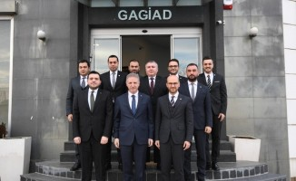 Gaziantep Valisi Davut Gül'den GAGİAD'a ziyaret