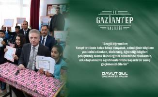Gaziantep valisinden yarıyıl tatili mesajı