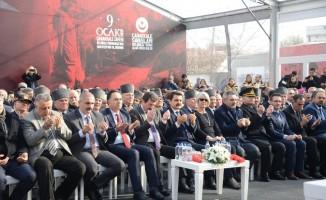 Gelibolu Yarımadası'nın tahliyesinin 103'üncü yılı nedeniyle tören düzenlendi