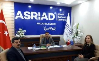 Gümrük Bölge Müdüründen Asriad'a ziyaret