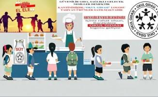 """Iğdır'da """"Okul Gıdası"""" logosu uygulaması"""
