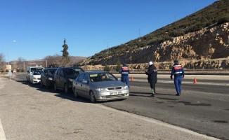 Jandarma ve Polis'ten hava destekli denetim