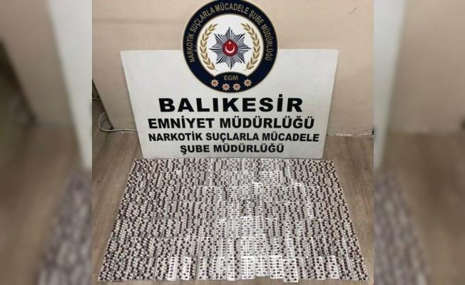 Kargodan bin 848 adet uyuşturucu hap çıktı