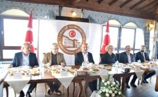 Kastamonu Valisi Yaşar Karadeniz, Gazeteciler ile bir araya geldi