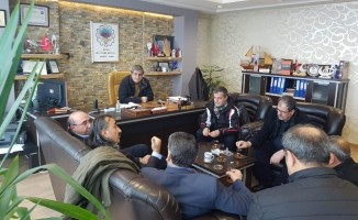 Kayak Federasyonu Başkanı Oto'dan Tatvan ziyareti