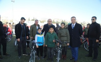 Kilis'te haftada 2 bin bisiklet dağıtılıyor