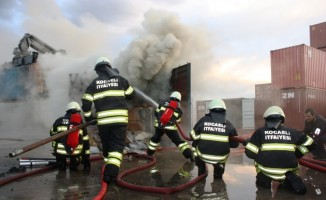 Kocaeli itfaiyesi bir yılda 3 bin 329 yangına müdahale etti