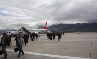 Malatya'dan bir yılda 872 bin kişi uçtu