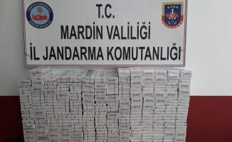Mardin'de 2 bin 120 paket kaçak sigara ele geçirildi