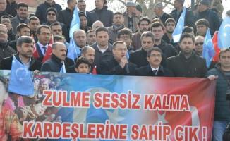 MASİDAP Doğu Türkistan'a sessiz kalmadı