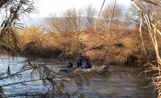 Menderes Nehri'ne düşen kişinin kaybolması