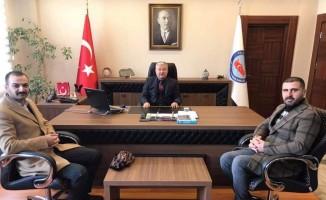 MHP Develi teşkilatı Kaymakam Duru'yu ziyaret etti