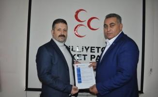 MHP Nar Belediye Başkan adayını açıkladı