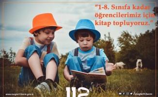 Muğla 112 AÇM çalışanlarından kitap kampanyası