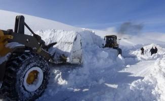 Muş'ta 131 köy yolu ulaşıma kapandı