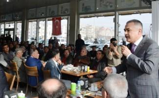 """Mustafa Savaş: """"Aydın'da olmazsa olmazımız, katılımcı bir yönetim anlayışı olacak"""""""