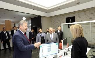 Mustafa Yalçın'dan Talas'a ziyaret