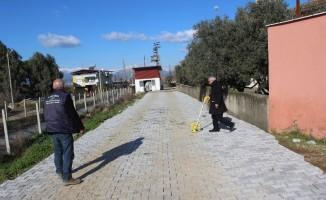 Nazilli Belediyesi köy yollarını yeniliyor