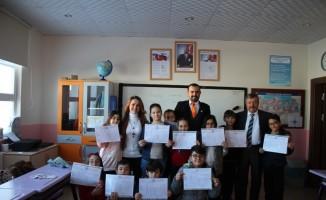 Nevşehir'de 55 bin 972 öğrenci yarıyıl tatiline girdi