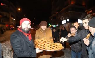 Nevşehir'de kar temizleme çalışmaları devam ediyor