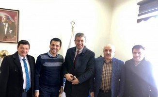 Oltululardan Erzurumspor'a ziyaret