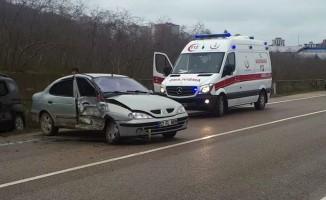 Ordu'da trafik kazaları: 4 yaralı
