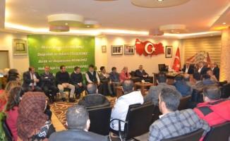 Öz Büro İş Sendikası Genel Başkanı Gülbaba Erzurum'da