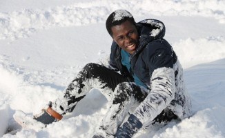 (Özel haber) Kar ile Türkiye'de tanıştılar