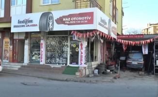 (Özel) Kartal'daki araç lastiği satıcılarına hırsız şoku