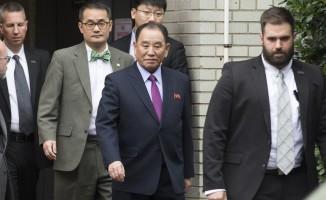 Pompeo, Kuzey Kore liderinin sağ kolu Yong-Chol ile görüştü