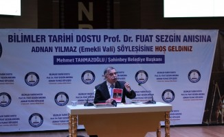 Prof. Dr. Fuat Sezgin Şahinbey'de anıldı