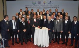 Reel sektör ve finans sektörü Erzurum'da buluştu