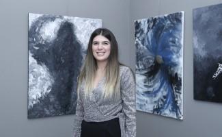Ressam Ergen'in 'Kadın' sergisi MTSO Sanat Galerisinde