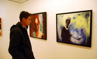 Ressam Murat Oğuz'un sergisi