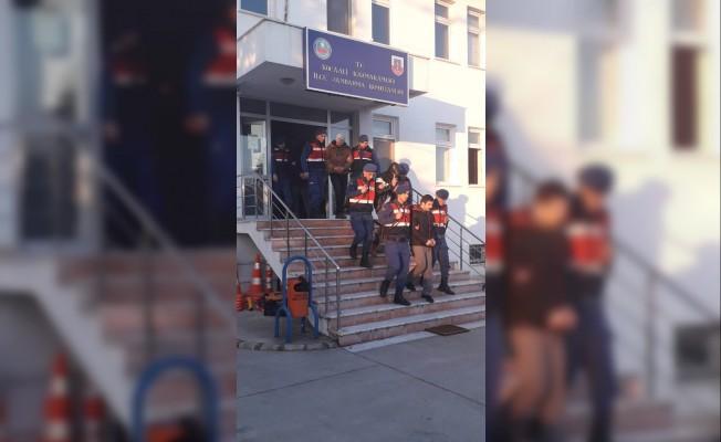 Sakarya'nın kuzey ilçelerinde uyuşturucu operasyonu: 3 tutuklama