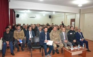 Sason'da 'Uyuşturucuyla Mücadele Toplantısı' yapıldı