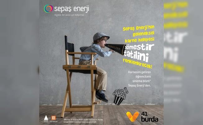 Sepaş Enerji'den çocuklara ücretsiz sinema bileti