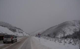 Sinop'ta 114 köy yolu ulaşıma kapandı